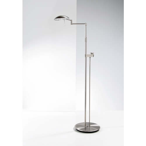 Holtkoetter Lighting Holtkoetter Modern LED Floor Lamp in Satin Nickel Finish 6317LEDSLD SN