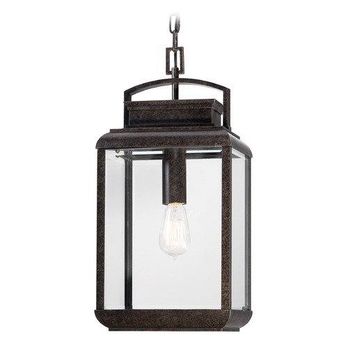 Quoizel Lighting Quoizel Byron Imperial Bronze Outdoor Hanging Light BRN1910IBFL