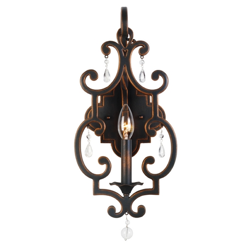 Kalco Lighting Kalco Lighting Montgomery Vintage Iron Sconce 2631VI