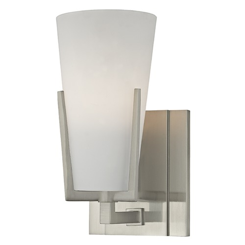 Hudson Valley Lighting Upton 1 Light Sconce - Satin Nickel 1801-SN