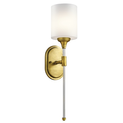 Kichler Lighting Kichler Lighting Theo Natural Brass Sconce 43427NBR