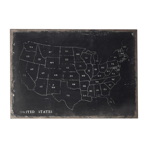 Sterling Lighting Sterling Lighting Black / Chalk Wall Art 51-10006