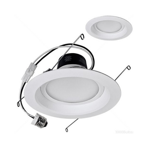 TCP Lighting LED Retrofit 6-Inch Recessed Trim - 12-Watts Total LED12DR5627K