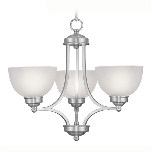 Livex Lighting Livex Lighting Somerset Brushed Nickel Mini-Chandelier 4213-91