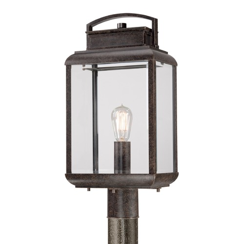 Quoizel Lighting Quoizel Byron Imperial Bronze Post Light BRN9010IBFL