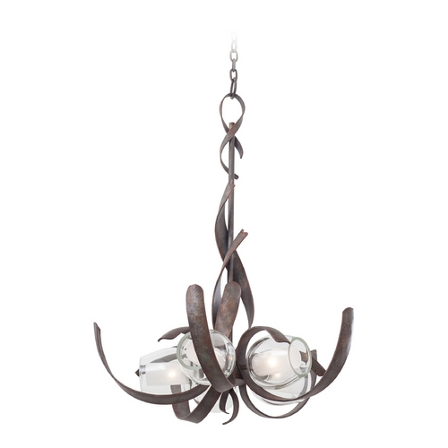 Kalco Lighting Kalco Lighting Solana Oxidized Copper Chandelier 7550OC