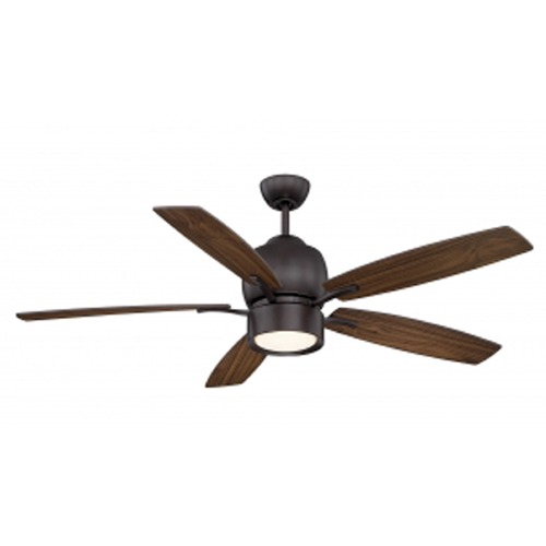 Savoy House Savoy House Lighting Girard English Bronze LED Ceiling Fan with Light 52-120-5WA-13