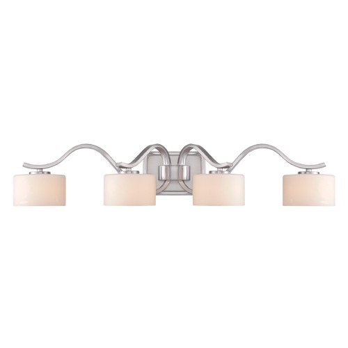 Quoizel Lighting Quoizel Lighting Devlin Brushed Nickel Bathroom Light DVN8604BNLED