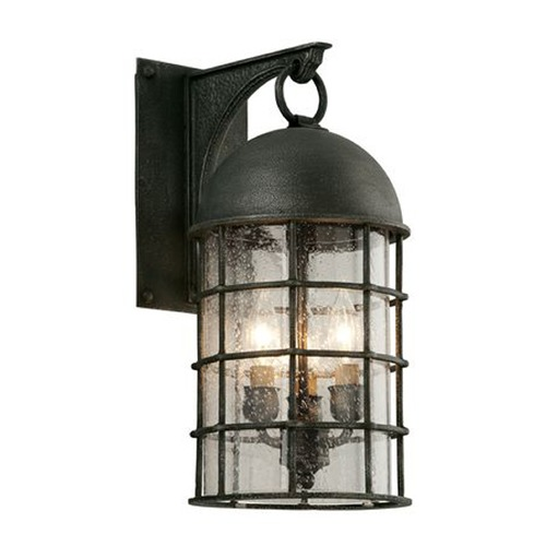 Troy Lighting Troy Lighting Charlemagne Aged Pewter Outdoor Wall Light BF4432