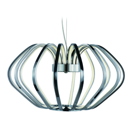 ET2 Lighting Argent Polished Chrome LED Pendant Light E24512-PC