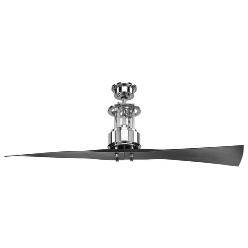 Progress Lighting Progress Lighting Spades Polished Chrome Ceiling Fan Without Light P2570-15