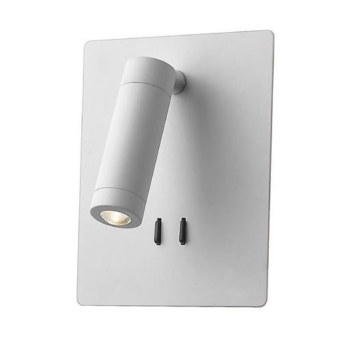 Kuzco Lighting Kuzco Lighting Dorchester White LED Sconce WS16806-WH