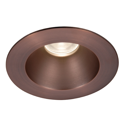 WAC Lighting Wac Lighting Copper Bronze LED Recessed Trim HR-3LED-T118S-C-CB