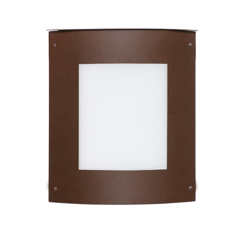 Besa Lighting Besa Lighting Moto Bronze Outdoor Wall Light 107-WA-BR