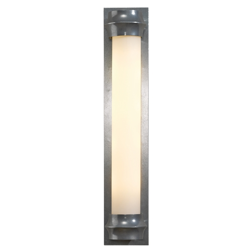 Hubbardton Forge Lighting Rook Vintage Platinum Bathroom Light - Vertical or Horizontal Mounting 207812-82-ZX347