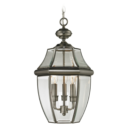 Cornerstone Lighting Cornerstone Lighting Ashford Antique Nickel Outdoor Hanging Light 8603EH/80
