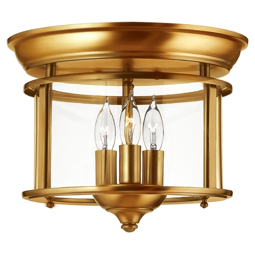 Hinkley Lighting Hinkley Lighting Gentry Heirloom Brass Flushmount Light 3473HR