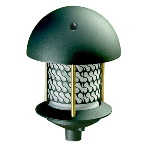 Dabmar Lighting Green Cast Aluminum Round Top Pagoda Light D8100-G