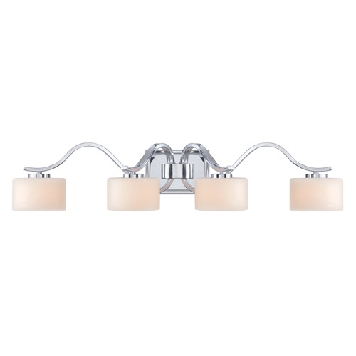 Quoizel Lighting Quoizel Lighting Devlin Polished Chrome Bathroom Light DVN8604CLED