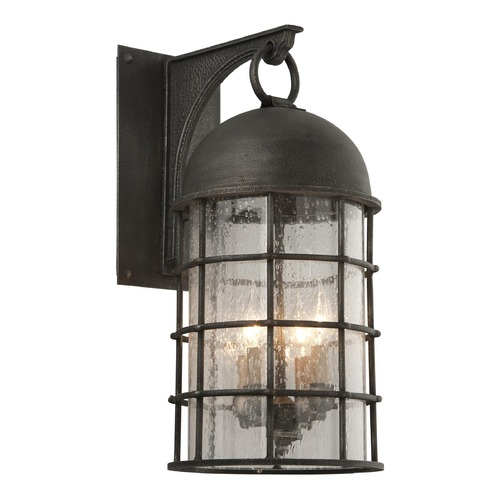 Troy Lighting Troy Lighting Charlemagne Aged Pewter Outdoor Wall Light BF4433