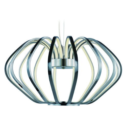 ET2 Lighting Argent Polished Chrome LED Pendant Light E24514-PC