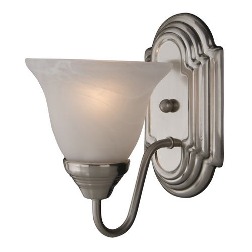 Maxim Lighting Maxim Lighting Essentials Satin Nickel Sconce 8011MRSN