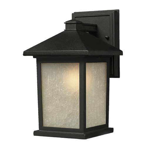 Z-Lite Z-Lite Holbrook Black Outdoor Wall Light 507M-BK