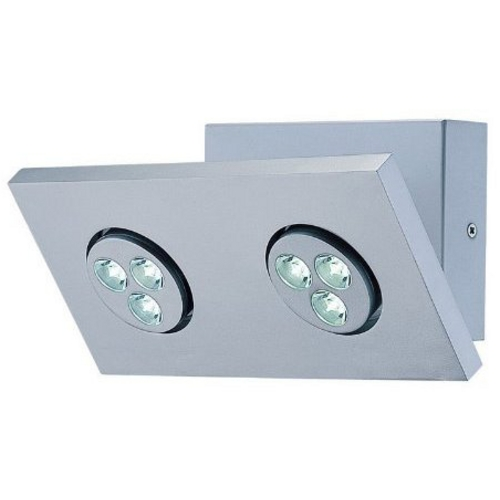 Lite Source Lighting Lite Source Lighting Zella Silver LED Wall Lamp LS-16102