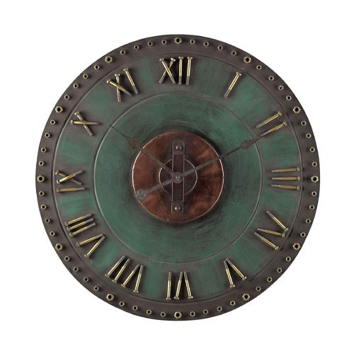 Sterling Lighting Sterling Lighting Verde with Gold Clock 128-1004