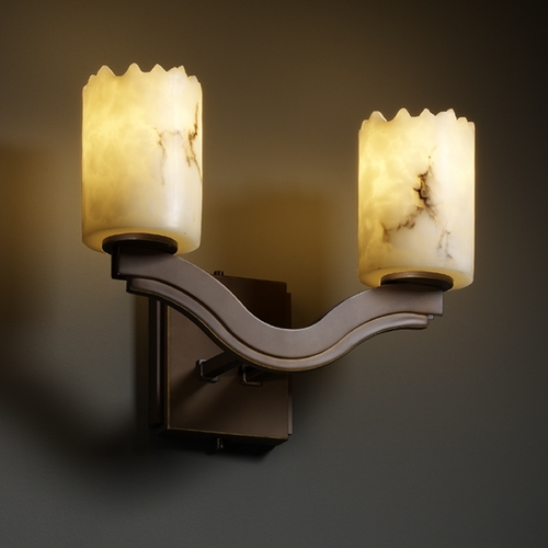 Justice Design Group Justice Design Group Lumenaria Collection Sconce FAL-8975-12-DBRZ