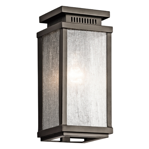 Kichler Lighting Kichler Lighting Manningham Olde Bronze Outdoor Wall Light 49384OZ
