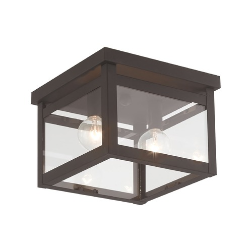 Livex Lighting Livex Lighting Milford Bronze Flushmount Light 4031-07