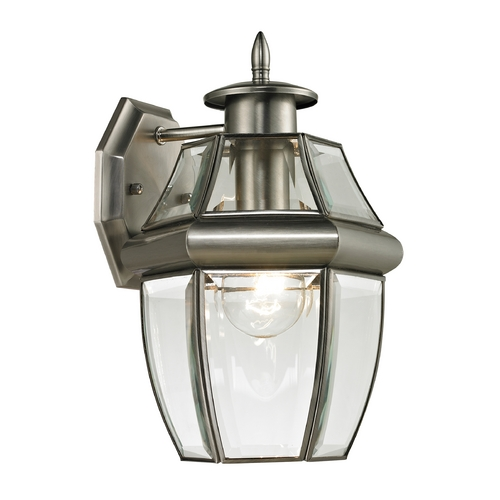Thomas Lighting Thomas Lighting Ashford Antique Nickel Outdoor Wall Light 8601EW/80