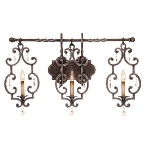 Kalco Lighting Kalco Lighting Montgomery Antique Copper Bathroom Light 2633AC