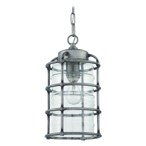 Craftmade Lighting Craftmade Lighting Hadley Aged Galvanized Outdoor Hanging Light Z2121-16