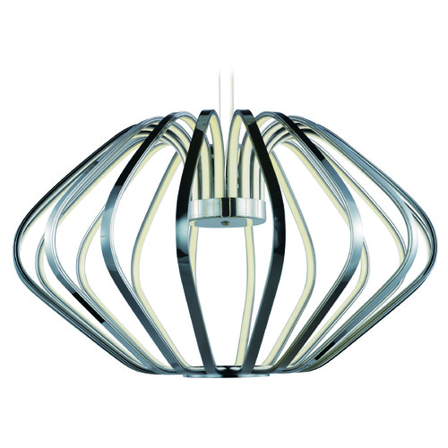 ET2 Lighting Argent LED Polished Chrome LED Pendant Light E24516-PC