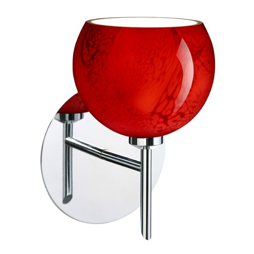 Besa Lighting Besa Lighting Palla Chrome LED Sconce 1SW-5658MA-LED-CR