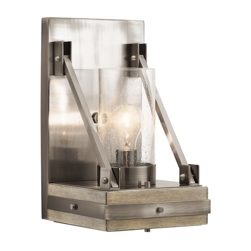 Kichler Lighting Kichler Lighting Colerne Classic Pewter Sconce 43436CLP
