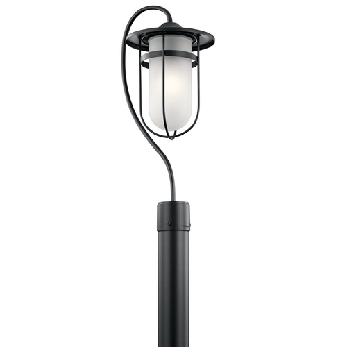 Kichler Lighting Kichler Lighting Finn Black Post Light 49827BK