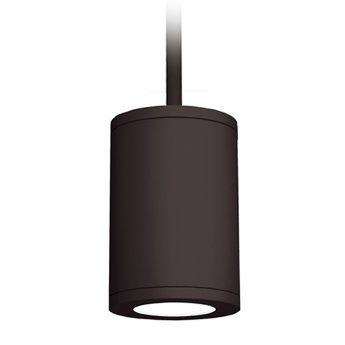 WAC Lighting 6-Inch Bronze LED Tube Architectural Pendant 4000K 2450LM DS-PD06-S40-BZ