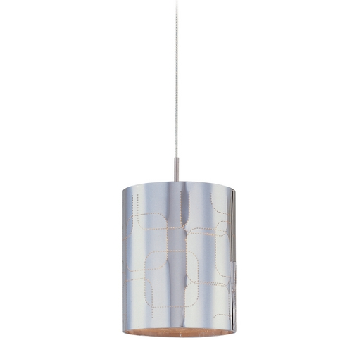 ET2 Lighting Modern Low Voltage Mini-Pendant Light with Clear Glass E94507-69SN
