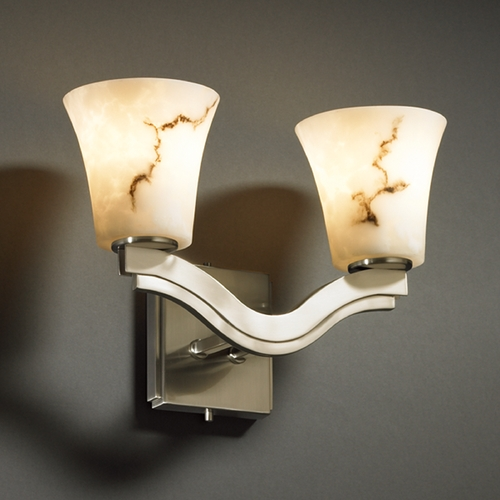 Justice Design Group Justice Design Group Lumenaria Collection Sconce FAL-8975-20-NCKL