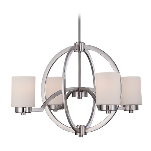 Quoizel Lighting Quoizel Celestial Brushed Nickel Chandelier CLT5004BN