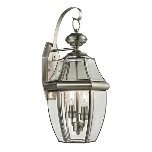 Thomas Lighting Thomas Lighting Ashford Antique Nickel Outdoor Wall Light 8602EW/80