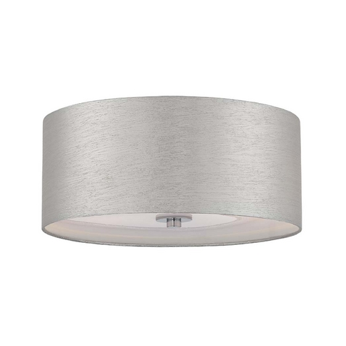 Lite Source Lighting Lite Source Lighting Silvain Chrome Flushmount Light LS-5569C/SIL