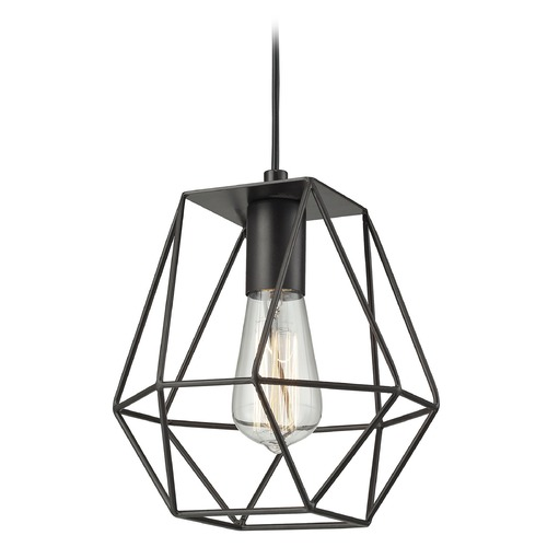 Elk Lighting Elk Lighting Delaney Oil Rubbed Bronze Mini-Pendant Light 31185/1