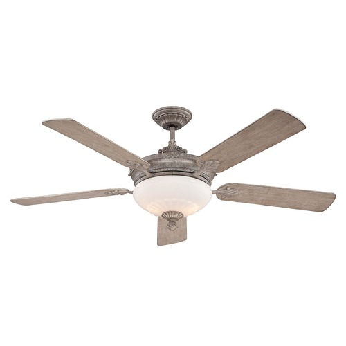 Savoy House Savoy House Lighting Bristol Aged Wood Ceiling Fan with Light 52-15-545-45