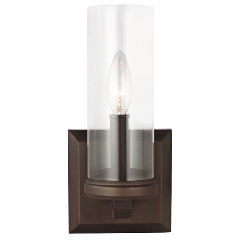 Feiss Lighting Feiss Lighting Jacksboro Dark Antique Copper / Antique Copper Sconce VS23201DAC/AC