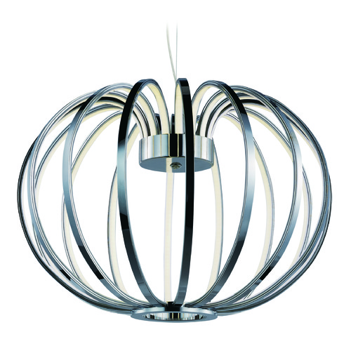 ET2 Lighting Argent LED Polished Chrome LED Pendant Light E24522-PC