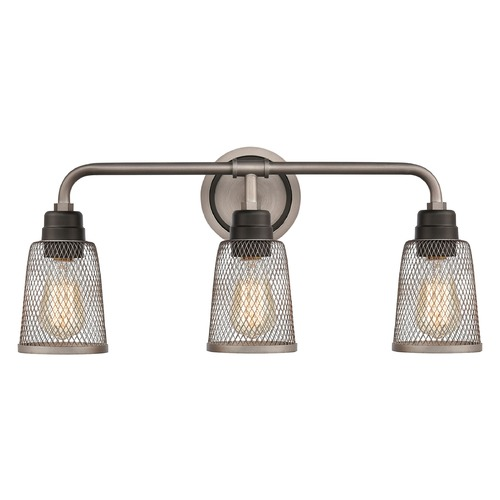 Elk Lighting Elk Lighting Glencoe Weathered Zinc, Oil Rubbed Bronze Bathroom Light 15653/3